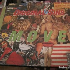 Discos de vinilo: LP THE ORIGINAL SINS MOVE DOBLE LP PRECINTADO. Lote 168903632