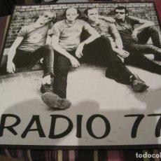 Discos de vinilo: LP RADIO 77 TERRORISMO JUVENIL POP MACHINE 1996. Lote 168906304