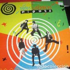 Disques de vinyle: OS PIORES - SOÑOS LISERXICOS (EDIGAL, EDL-80016 LP, 1991) MOD, NUEVO SIN USAR!. Lote 168908992