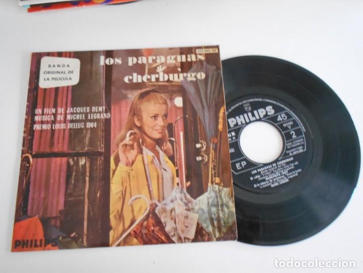 LOS PARAGUAS DE CHERBURGO-EP BSO DEL FILM (Música - Discos de Vinilo - EPs - Bandas Sonoras y Actores)