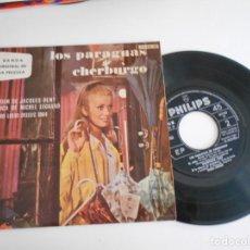 Discos de vinilo: LOS PARAGUAS DE CHERBURGO-EP BSO DEL FILM. Lote 168909832