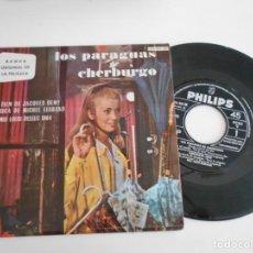 Discos de vinilo: LOS PARAGUAS DE CHERBURGO-EP BSO DEL FILM. Lote 168910904