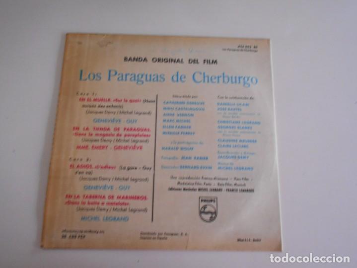 Discos de vinilo: LOS PARAGUAS DE CHERBURGO-EP BSO DEL FILM - Foto 2 - 168910904