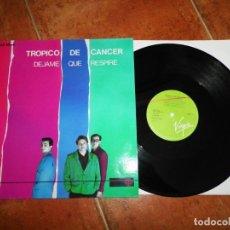 Discos de vinilo: TROPICO DE CANCER DEJAME QUE RESPIRE / CON TADA TRANQUILIDAD MAXI SINGLE VINILO JULIAN RUIZ 2 TEMAS. Lote 168911848