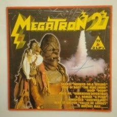 Discos de vinilo: MEGATRON 2.- DOBLE LP. TDKDA57. Lote 168914404