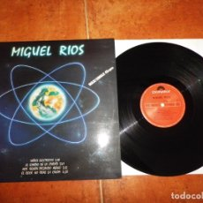 Discos de vinilo: MIGUEL RIOS NIÑOS ELECTRICOS MAXI SINGLE VINILO PROMO DEL AÑO 1984 HECHO EN ESPAÑA ROSENDO MERCADO. Lote 168916281