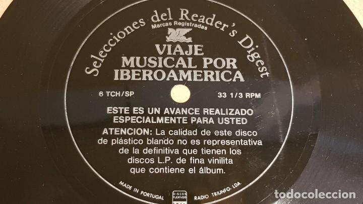 Discos de vinilo: 4 FLEXIDISC / SELECCIONES READER'S DIGEST / 2 DE 6 Y 2 DE 7 PULGADAS / OCASIÓN. - Foto 2 - 168922908