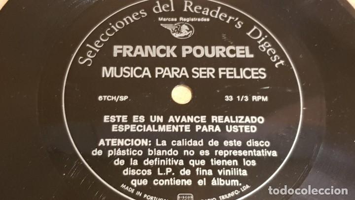 Discos de vinilo: 4 FLEXIDISC / SELECCIONES READER'S DIGEST / 2 DE 6 Y 2 DE 7 PULGADAS / OCASIÓN. - Foto 3 - 168922908