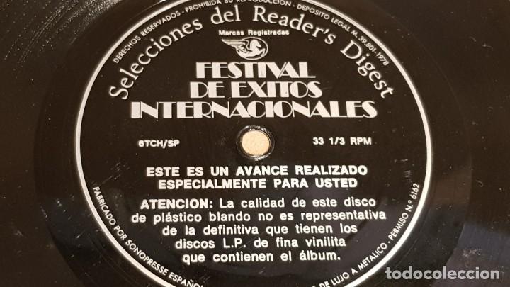 Discos de vinilo: 4 FLEXIDISC / SELECCIONES READER'S DIGEST / 2 DE 6 Y 2 DE 7 PULGADAS / OCASIÓN. - Foto 5 - 168922908