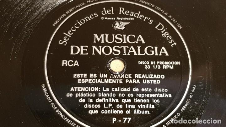 Discos de vinilo: 4 FLEXIDISC / SELECCIONES READER'S DIGEST / 2 DE 6 Y 2 DE 7 PULGADAS / OCASIÓN. - Foto 4 - 168922908