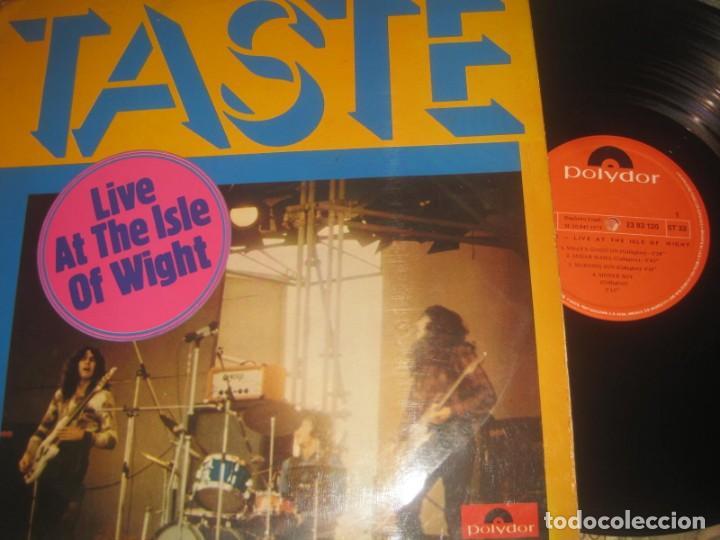 TASTE - LIVE AT THE ISLE OF WIGHT - (POLYDOR -1972) OG ESPAÑA EXCELENTE CONDICION (Música - Discos - LP Vinilo - Pop - Rock - Extranjero de los 70)