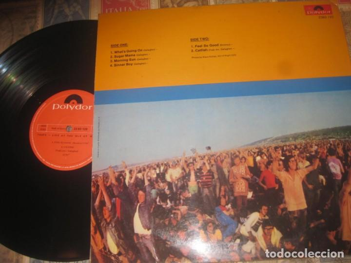 Discos de vinilo: TASTE - LIVE AT THE ISLE OF WIGHT - (POLYDOR -1972) OG ESPAÑA EXCELENTE CONDiCION - Foto 2 - 168923964
