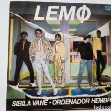 Disques de vinyle: LEMO- SIBILA VANE- SINGLE 1981- EXC. ESTADO.. Lote 168927376