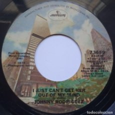 Discos de vinilo: JOHNNY RODRIGUEZ - HAVE I TOLD YOU / I JJUST CAN´T GET HER - SINGLE USA 1974 - MERCURY. Lote 168937400