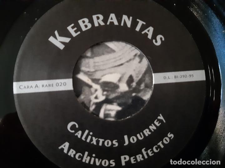 Discos de vinilo: KEBRANTAS- CALIXTOS JOURNEY - EP 1995 - COMO NUEVO. - Foto 4 - 168937608