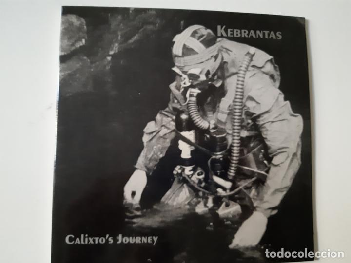 KEBRANTAS- CALIXTOS JOURNEY - EP 1995 - COMO NUEVO. (Música - Discos de Vinilo - EPs - Grupos Españoles de los 90 a la actualidad)