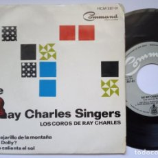 Discos de vinilo: THE RAY CHARLES SINGERS - SWEET LITTLE MOUNTAIN - EP ESPAÑOL 1964 - COMMAND. Lote 168939592