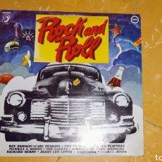 Discos de vinilo: ÚNICO EN TODOCOLECCIÓN - LP ROCK AND ROLL - ORIGINAL - EN BUEN ESTADO - RARA ADQUISICIÓN -. Lote 168977084