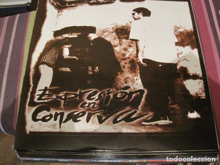 LP EXPRESIÓN EN CONSERVA ZEROPORSIENTO 1998 HIP HOP RAP (Música - Discos - LP Vinilo - Rap / Hip Hop)