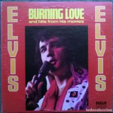 Discos de vinilo: ELVIS PRESLEY. BURNING LOVE AND HITS FROM HIS MOVIES VOL. 2. RCA-CANDEM, USA 1972 LP (CAS-2595). Lote 168988368