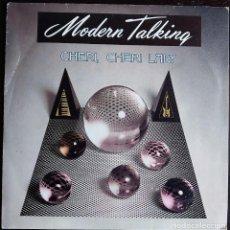 Discos de vinilo: MODERN TALKING – CHERI CHERI LADY - SINGLE SPAIN 1985. Lote 168989012