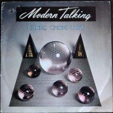 Discos de vinilo: MODERN TALKING – CHERI CHERI LADY - SINGLE SPAIN 1985. Lote 168989036