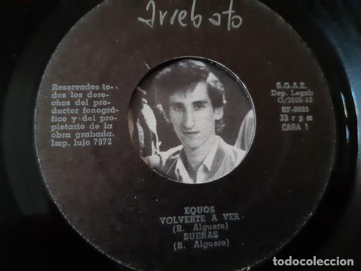 Discos de vinilo: EQUOS- SUEÑAS- SINGLE 1982- VINILO COMO NUEVO. - Foto 3 - 168991356