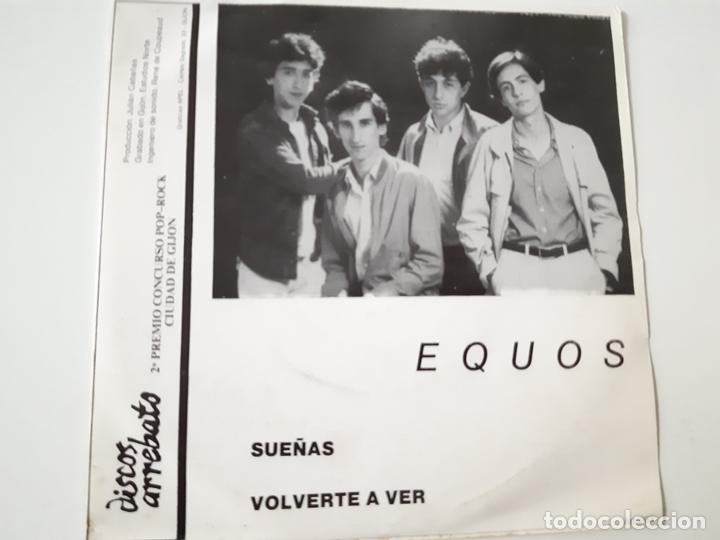 EQUOS- SUEÑAS- SINGLE 1982- VINILO COMO NUEVO. (Música - Discos de Vinilo - EPs - Grupos Españoles de los 70 y 80)