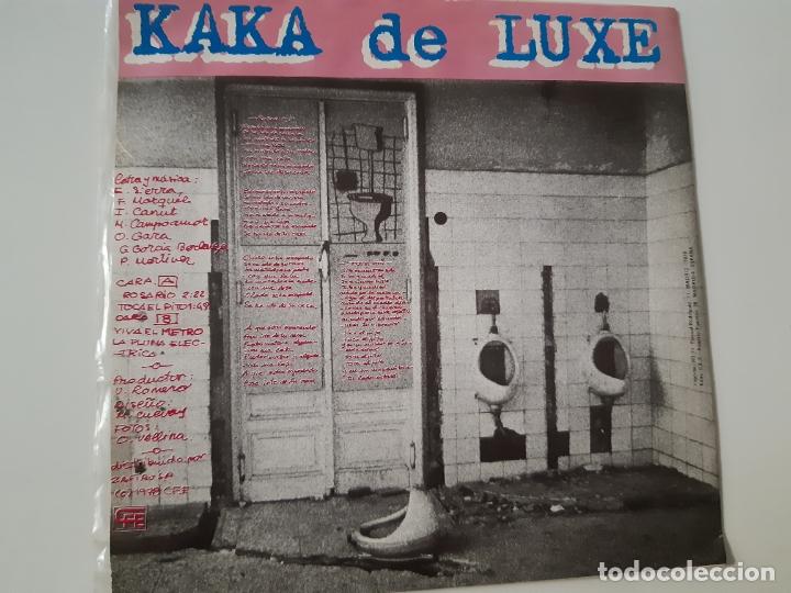 Discos de vinilo: KAKA DE LUXE- ROSARIO - EP PROMO 1978 - COMO NUEVO. - Foto 2 - 168993636