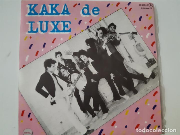 KAKA DE LUXE- ROSARIO - EP PROMO 1978 - COMO NUEVO. (Música - Discos de Vinilo - EPs - Grupos Españoles de los 70 y 80)