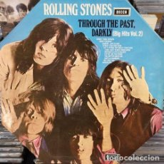 Discos de vinilo: THE ROLLING STONES - THROUGH THE PAST DARKLY - LP 1ª EDICION ESPAÑOLA PORTADA OCTOGONAL 1969 #. Lote 169000436