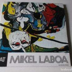 Discos de vinilo: MIKEL LABOA / BAT HIRU / LP DOBLE 33 RPM / ELKAR. Lote 169001808