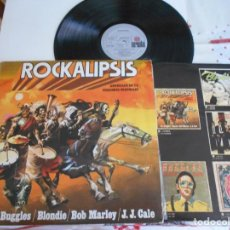 Discos de vinilo: ROCKALIPSIS-LP THE BUGGLES BLONDIE BOB MARLEY. Lote 169022844