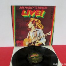 Discos de vinil: BOB MARLEY & THE WAILERS - LIVE AT THE LYCEUM - LP - ISLAND 1978 SPAIN 89729 COMO NUEVO. Lote 169029312