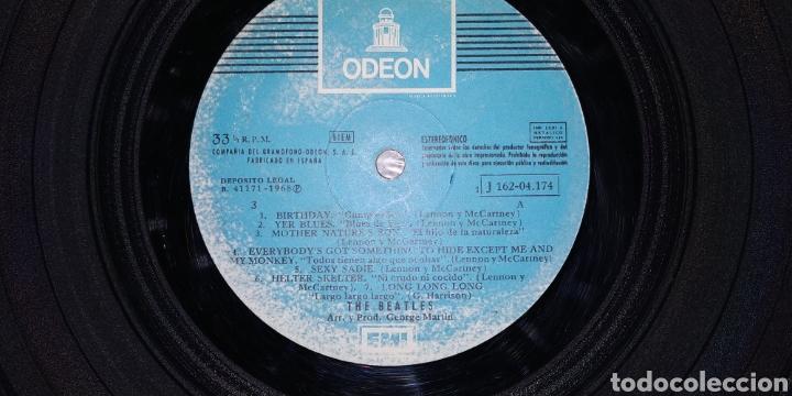 Discos de vinilo: THE BEATLES // WHITE ÁLBUM -2 LPs - 1968- Vinilos en buen estado - Numerado-Álbum blanco -LP Antiguo - Foto 5 - 169030172