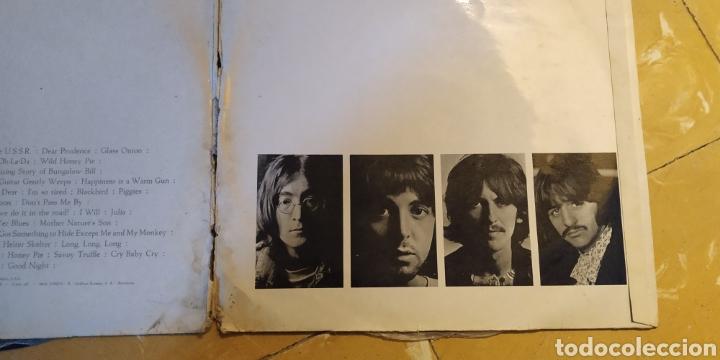 Discos de vinilo: THE BEATLES // WHITE ÁLBUM -2 LPs - 1968- Vinilos en buen estado - Numerado-Álbum blanco -LP Antiguo - Foto 16 - 169030172