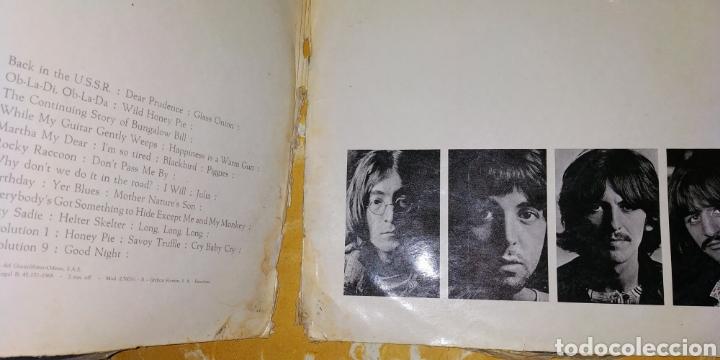 Discos de vinilo: THE BEATLES // WHITE ÁLBUM -2 LPs - 1968- Vinilos en buen estado - Numerado-Álbum blanco -LP Antiguo - Foto 20 - 169030172