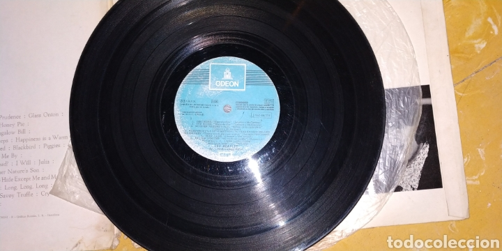 Discos de vinilo: THE BEATLES // WHITE ÁLBUM -2 LPs - 1968- Vinilos en buen estado - Numerado-Álbum blanco -LP Antiguo - Foto 4 - 169030172