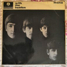 Discos de vinilo: LP THE BEATLES WITH THE BEATLES 1963. Lote 169032698