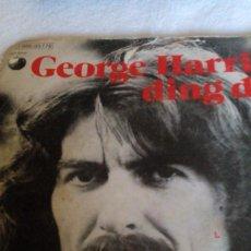 Discos de vinilo: AR___DISCO VINILO__ GEORGE HARRISON/ DING DONG. Lote 169039356