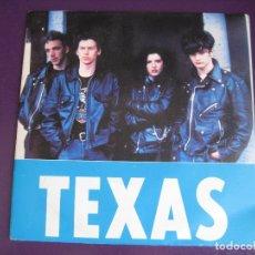 Discos de vinilo: TEXAS SG MERCURY PROMO 1989 FOOL FOR LOVE - EDICION ESPECIAL 40 PRINCIPALES - POP ROCK 90'S. Lote 169043496