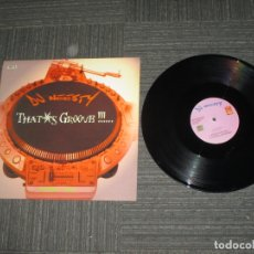 Discos de vinilo: DJ NEESTY - THAT´S GROOVE ¡ NUMBER TWO - MAXI - USA - PROMOCIONAL - IBL - . Lote 169049980