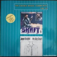 Discos de vinilo: ISAAC HAYES / JEAN KNIGHT...THEME FROM SHAFT / MR. BIG STUFF. (ZYX RECORDS 1988) GERMANY. Lote 169051552
