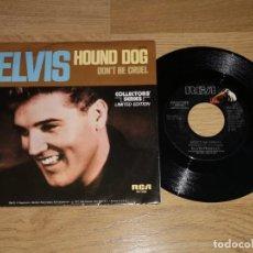 Discos de vinilo: ELVIS PRESLEY 7 SINGLE COLLECTOR SERIES, USA PRESS *ROCKABILLY-GENE VINCENT.(COMPRA MINIMA 15 EUR). Lote 169059352