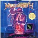 Discos de vinilo: MEGADETH / HANGAR 18 / THE CONJURING (SINGLE 1990) NO LLEVA EL PATCH. Lote 169068192