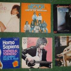Discos de vinilo: LOTE 16 VINILOS VARIADOS 45 RPM. Lote 169073881
