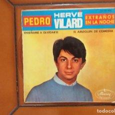 Discos de vinilo: EP. HERVE VILARD. PEDRO + 3. MERCURY RECORDS.. Lote 169078732