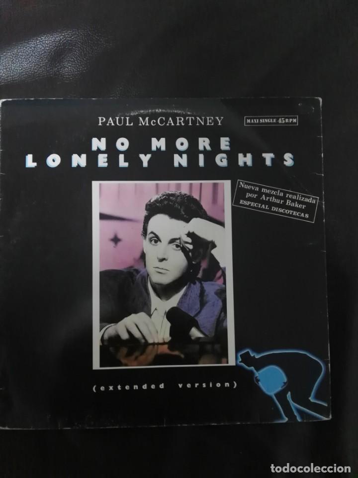 MAXI SINGLE PAUL MCCARTNEY EDICIÓN ESPAÑA BEATLES VERSIÓN DISCOTECA (Música - Discos de Vinilo - Maxi Singles - Pop - Rock - New Wave Extranjero de los 80)