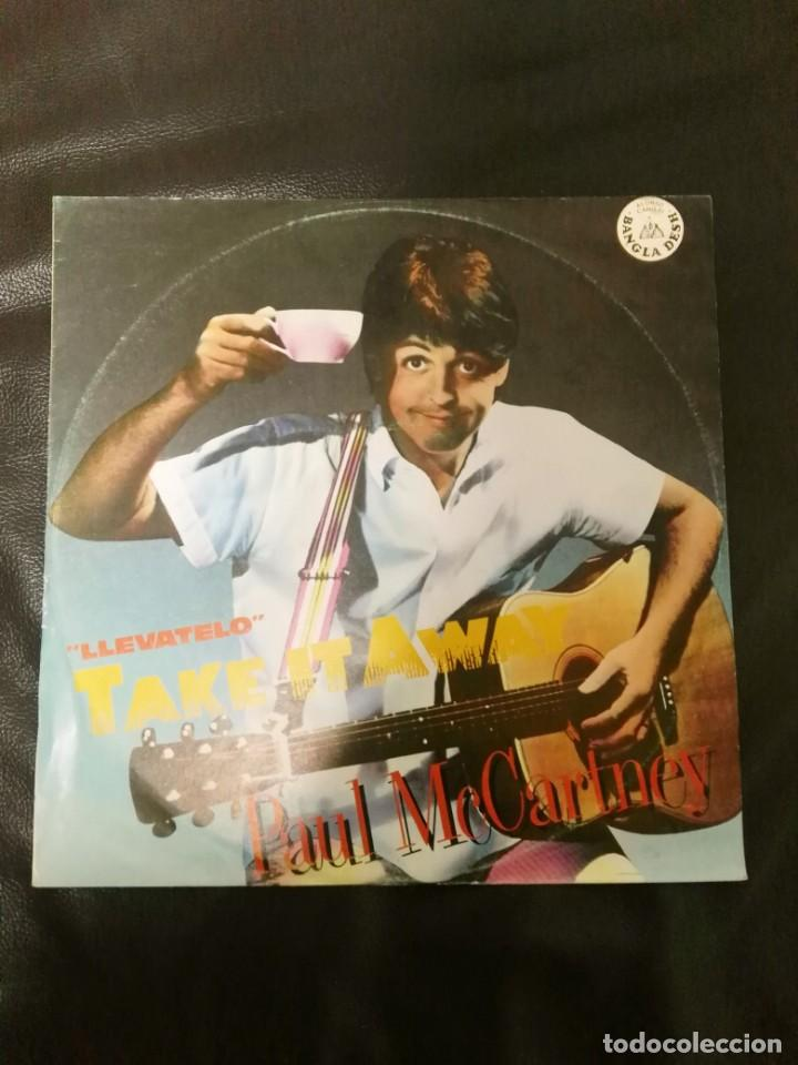 MAXI SINGLE PAUL MCCARTNEY EDICIÓN ESPAÑA BEATLES (Música - Discos de Vinilo - Maxi Singles - Pop - Rock - New Wave Extranjero de los 80)