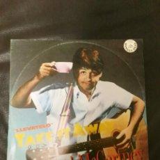 Discos de vinilo: MAXI SINGLE PAUL MCCARTNEY EDICIÓN ESPAÑA BEATLES. Lote 169083292